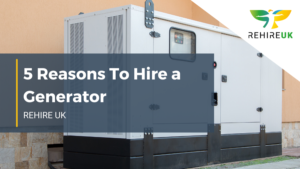 Header image for reasons to hire a generator